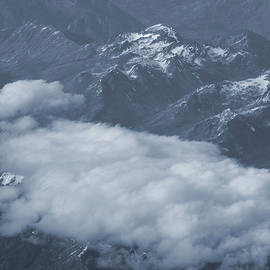 Dan Sproul - Clouds Over North Cascade Mountain Range