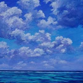 Clouds over the Caribbean - John Clark