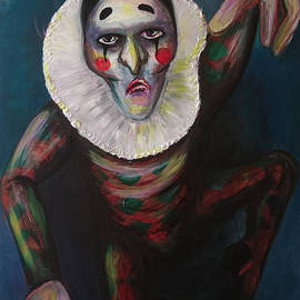 Akiko Okabe - Clown escaping from the darkness