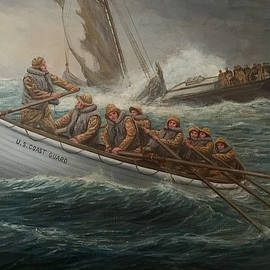 Coast Guard To The Rescue by William H RaVell III