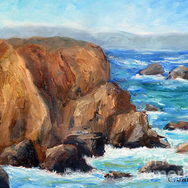 Coast Overlook by Carolyn Jarvis
