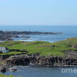 Coastal Cottage Donegal by Eddie Barron