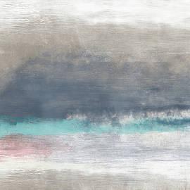 Linda Woods - Coastal Escape-Abstract Art by Linda Woods