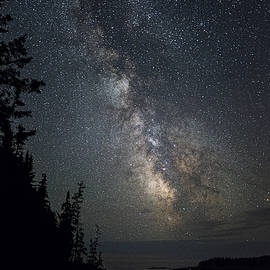 Marty Saccone - Coastal Maine Milky Way Starscape