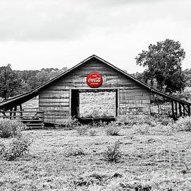 Coca Cola Barn - selective color by Scott Pellegrin