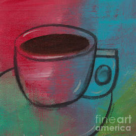 Coffee Contempo Retro by Robin Pedrero