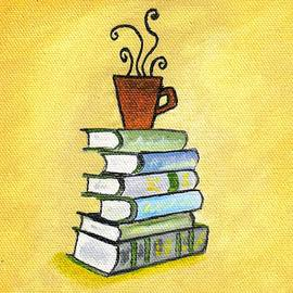 Coffee cup with book by Mohammad Irfan