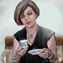 Coffee Fortune by Nesrin Gulistan