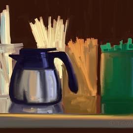 Bill Tomsa - Coffee Shop Still Life