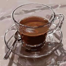 Coffee Still Life by Nesrin Gulistan