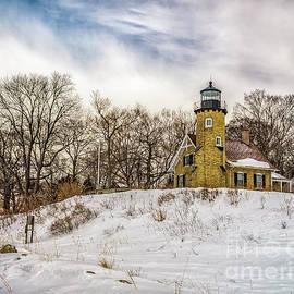 Nick Zelinsky - Cold Day at White River Lighthouse