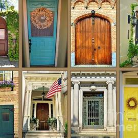 Linda Covino - Collage of Doors