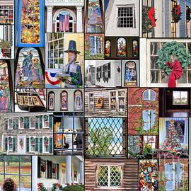 Janice Drew - Collage of Windows