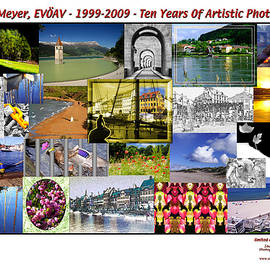 Collage- Sascha Meyer Evoeav - 1999-2009 - Ten Years Of Artistic Photography - Limited Edition Print by Sascha Meyer