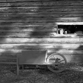 Colonial Wheelbarrow by John Feiser