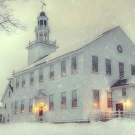 Joann Vitali - Colonial Winter Scene - Washington, NH