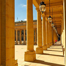 Alex Cassels - Colonnade at the Palais Royal