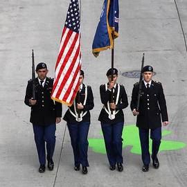 Color Guard by Richard Lynch