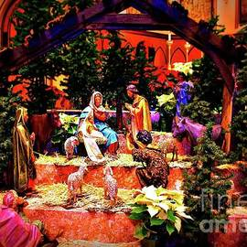 Frank J Casella - Color Vibe Nativity - No Border