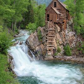 Colorado Crystal Mill by Angela Moyer