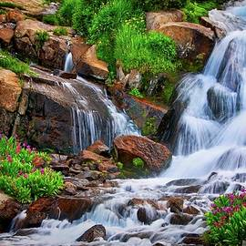 Colorado Mountain Stream, Indian Peaks Wilderness by Flying Z Photography by Zayne Diamond