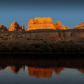 Colorado River Reflections One by Gary Warnimont