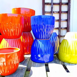 Ed Weidman - Colored Planters