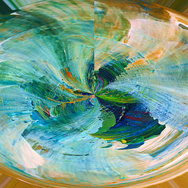 Jeff Swan - Colored sphere abstract