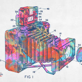 Colorful 1966 Photographic Camera Accessory Patent Minimal - Nikki Marie Smith