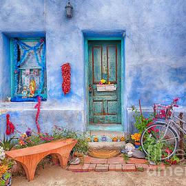 Colorful Barrio Viejo by Priscilla Burgers