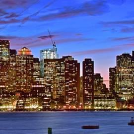 Colorful Boston Sundown by Frozen in Time Fine Art Photography