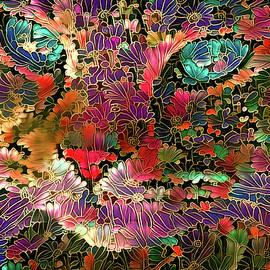 Peggy Collins - Flower Cat 1