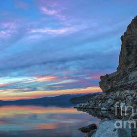 Mitch Shindelbower - Colorful Cave Rock Sunset