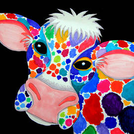 Colorful Cow by Nick Gustafson