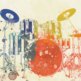 Dan Sproul - Colorful Drum Set
