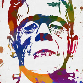Colorful Frankenstein by Dan Sproul