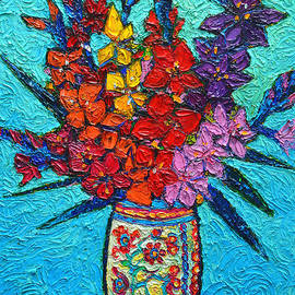 Colorful Gladiolus by Ana Maria Edulescu