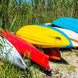 Colleen Kammerer - Colorful Kayaks