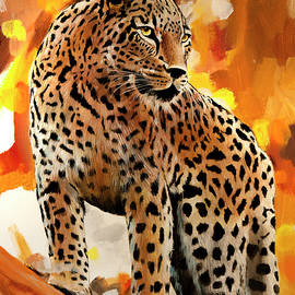 Bill Dunkley - Colorful Leopard