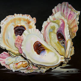 Phyllis Beiser - Colorful Oyster Shells