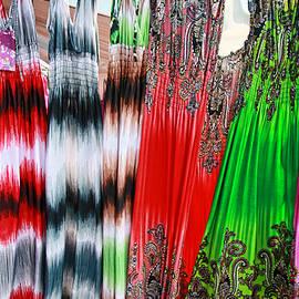 Allen Beatty - Colorful Print Dresses 3