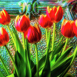 Colorful Spring Tulips - Garry Gay