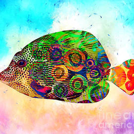Colorful Tropical Fish  by Stacey Chiew