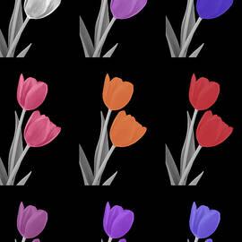 Johanna Hurmerinta - Colorful Tulip Collage