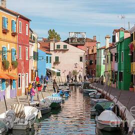 Colorful Venetian Burano by Heiko Koehrer-Wagner