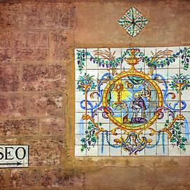 Colorful Wall Mosaic in Valencia Spain  - Carol Japp