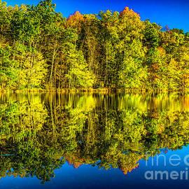 Nick Zelinsky - Colors of Fall at Bushkill