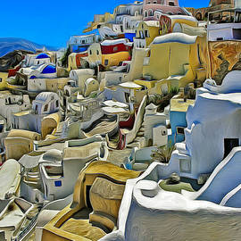 Dan Mintici - Colors of Santorini