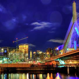 Joann Vitali - Colors of the Zakim Bridge - Boston, Ma