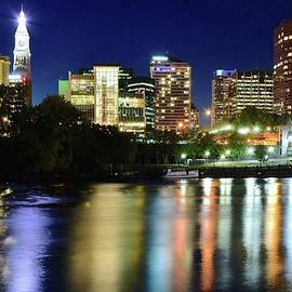 Frozen in Time Fine Art Photography - Colors Shimmer on the River in Hartford